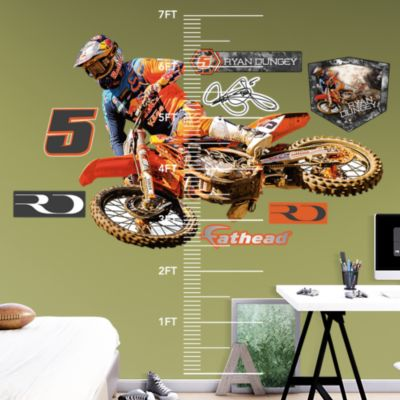 Crusher Cowboy Fathead Wall Decal