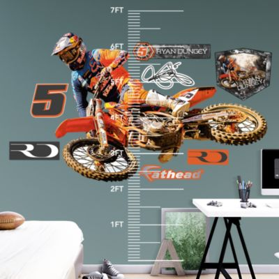 Blistering Bronco - Grinding It Out Mural Fathead Wall Decal