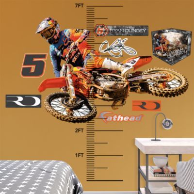 Assorted Hockey Graphics Fathead Wall Decal