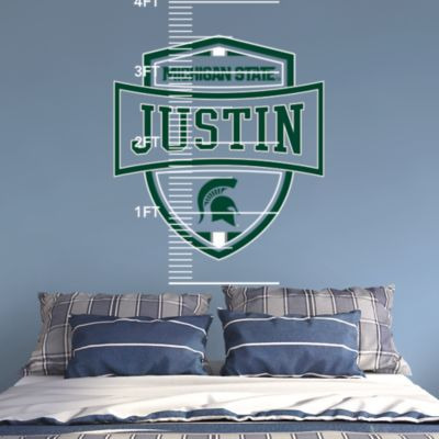 Milwaukee Bucks Stacked Personalized Name Fathead Wall Decal