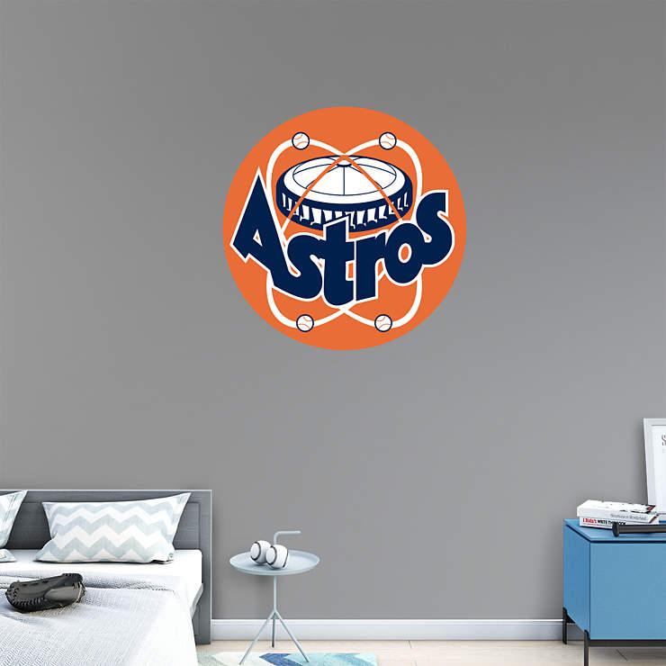 Houston Astros Classic Logo Wall Decal