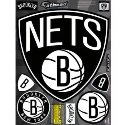 Brooklyn Nets Street Grip  Outdoor Decal