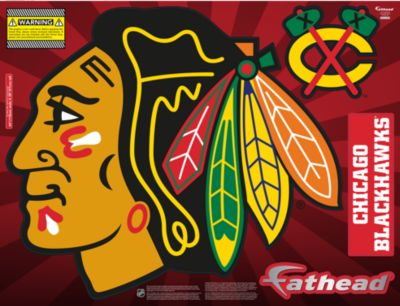 Chicago Blackhawks Street Grip Outdoor Decal