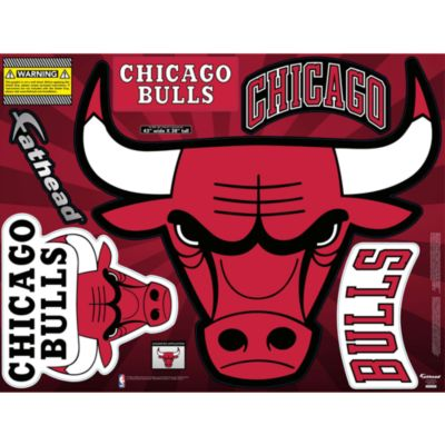 Chicago Bulls Street Grip Outdoor Decal