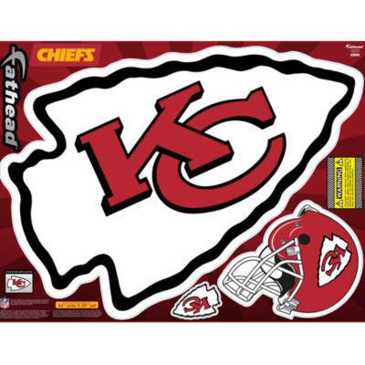 Kansas City Chiefs Street Grip Outdoor Decal