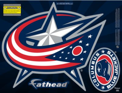 Columbus Blue Jackets Street Grip Outdoor Decal
