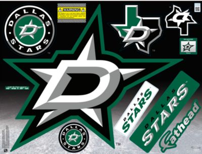 Dallas Stars Street Grip Outdoor Decal