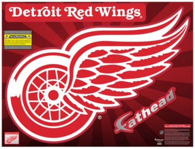 Detroit Red Wings Street Grip Outdoor Decal