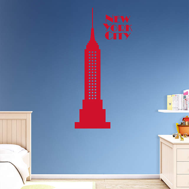 Empire State Building Wall Decal Shop Fathead For Wall
