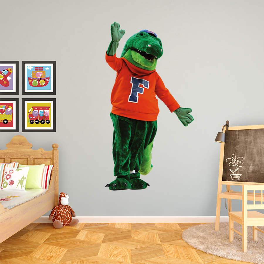 Florida gators fathead wall decals more shop college for Gator bedroom ideas
