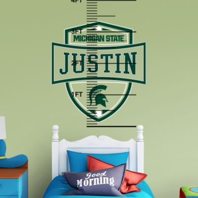 Michigan Wolverines Personalized Name - M Fathead Wall Decal