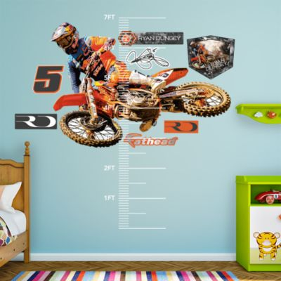 Brian Deegan Rally Car Fathead Wall Decal