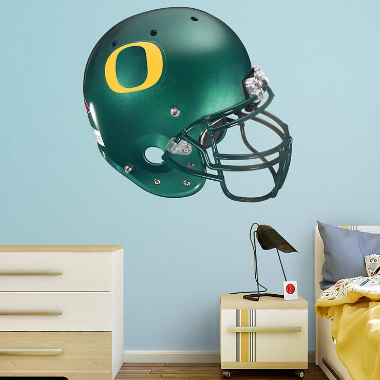 Oregon Ducks Helmet Wall Decal