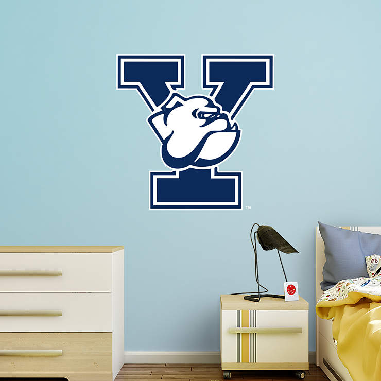 Yale Bulldogs Logo Wall Decal Shop Fathead 174 For Yale