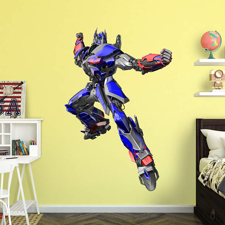 Optimus Prime Age Of Extinction Wall Decal Shop