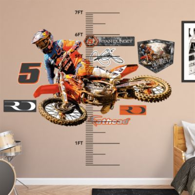 Moustache Collection Fathead Wall Decal