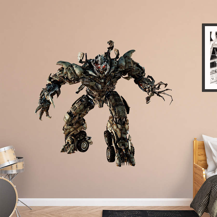 Megatron Dark Of The Moon Wall Decal Shop Fathead 174 For