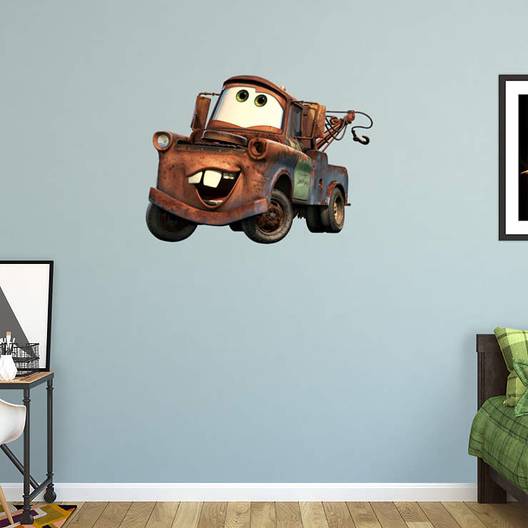 Mater wall decal shop fathead for the world of cars decor for Cars 2 wall mural