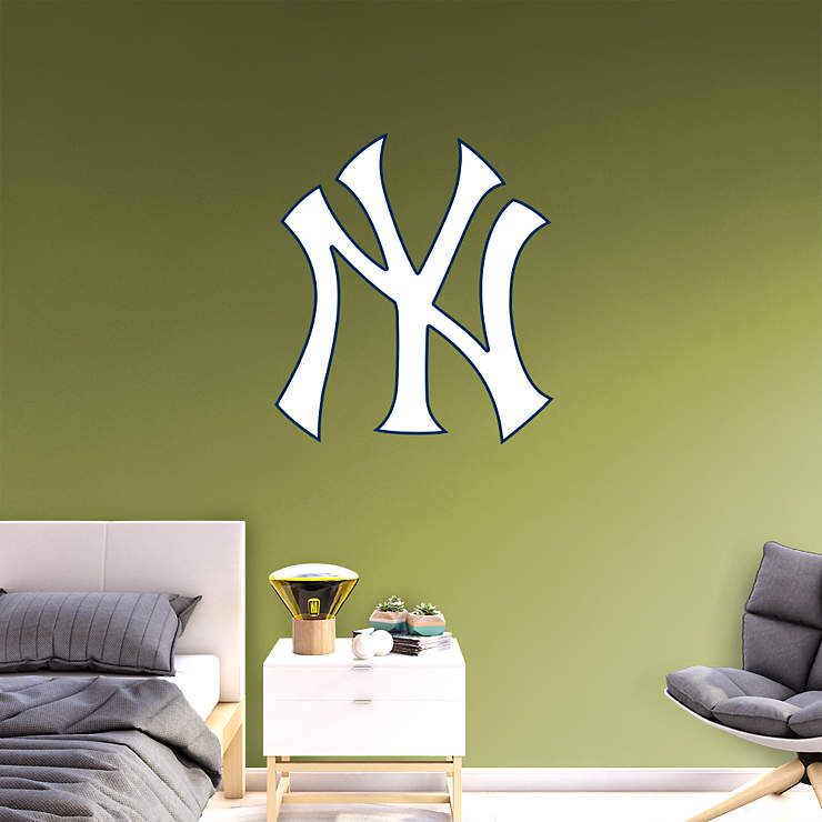 New York Yankees Home Decor: New York Yankees Logo Wall Decal