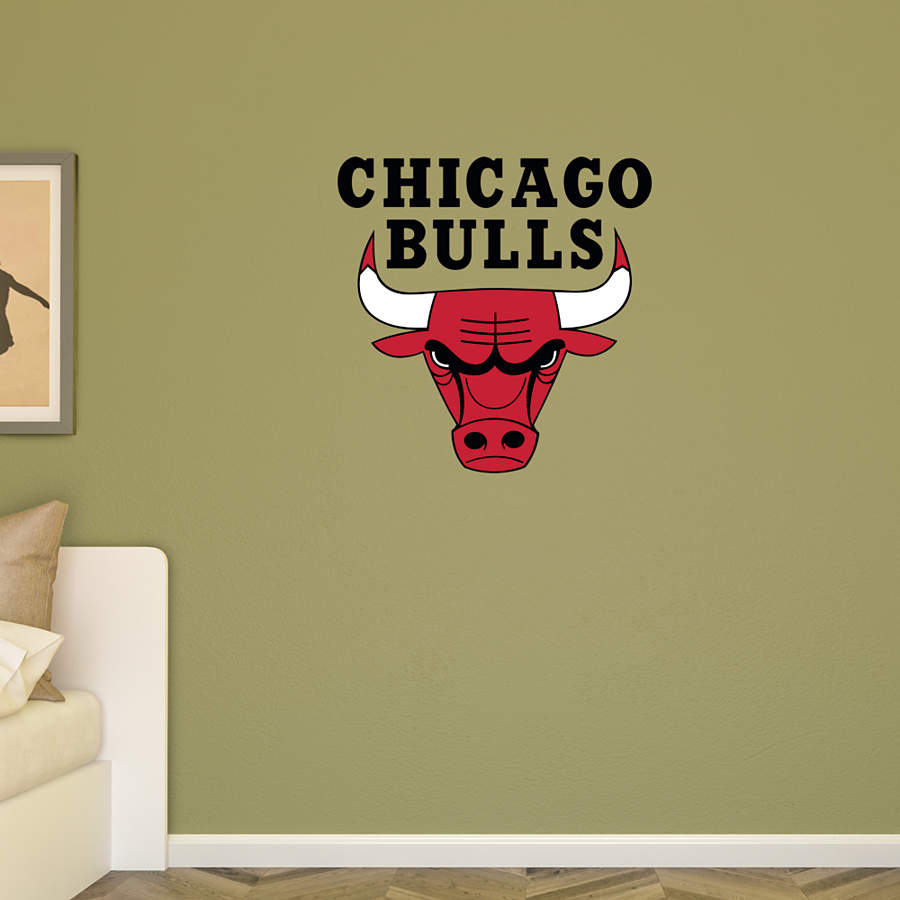 Chicago Bulls Logo Transfer Decal Wall Decal Shop