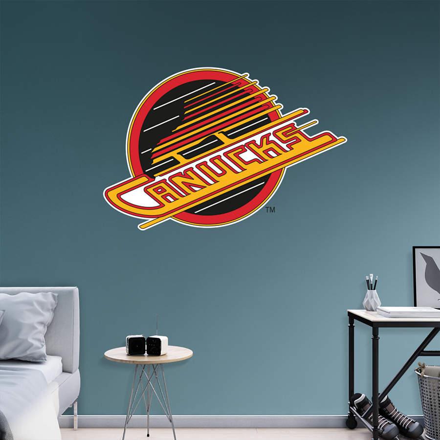 Vancouver Canucks Vintage Logo Wall Decal
