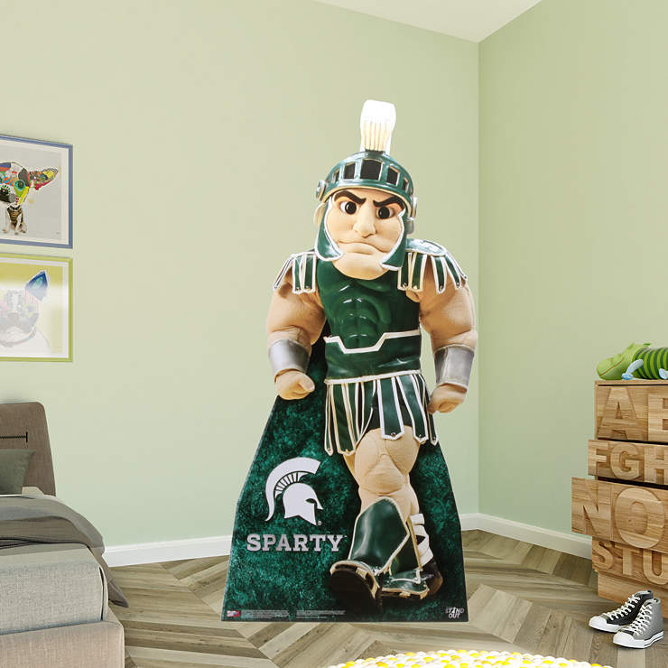 Home Decor Stores Michigan: Sparty Life-Size Stand Out Cut Out
