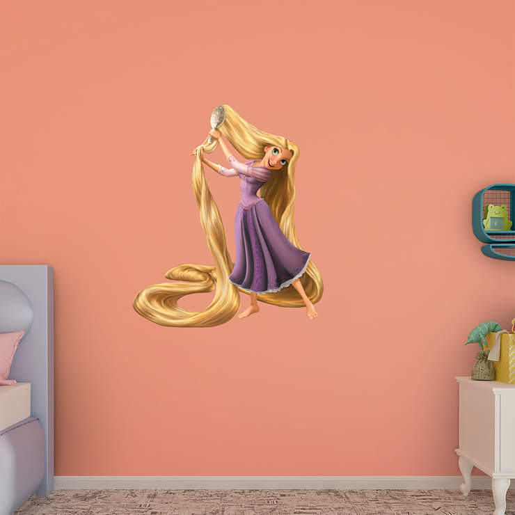 Rapunzel Tangled Wall Decal Shop Fathead For Tangled Decor
