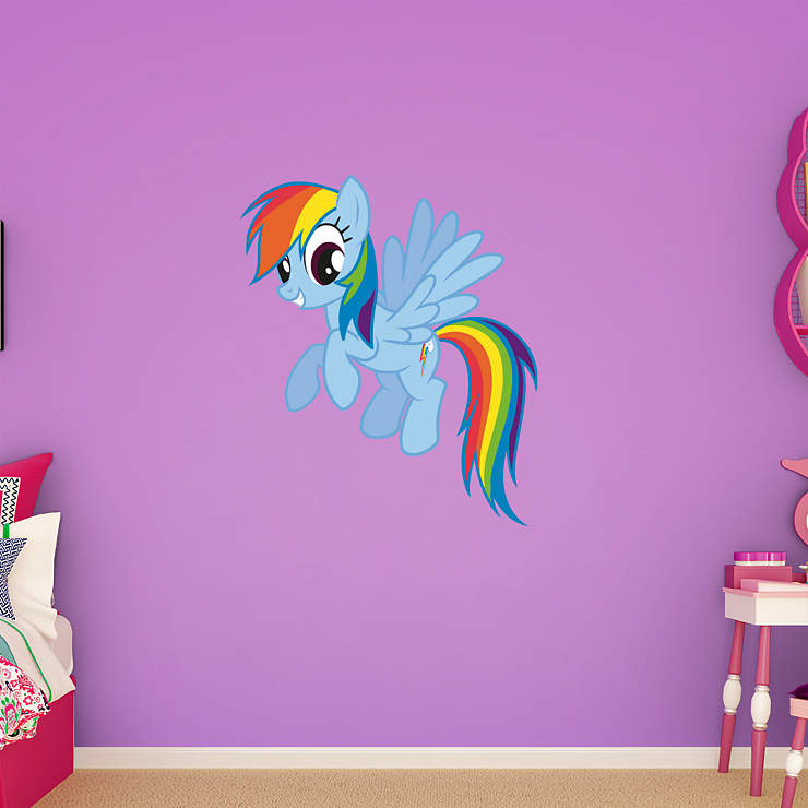 Rainbow Dash Wall Decal Shop Fathead 174 For My Little Pony