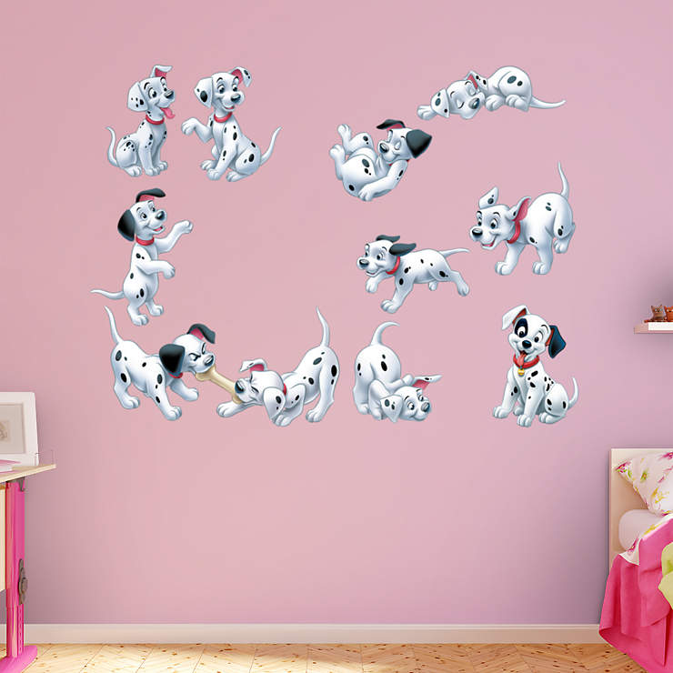 Classroom Decor Numbers ~ Dalmatians puppy collection wall decal shop fathead