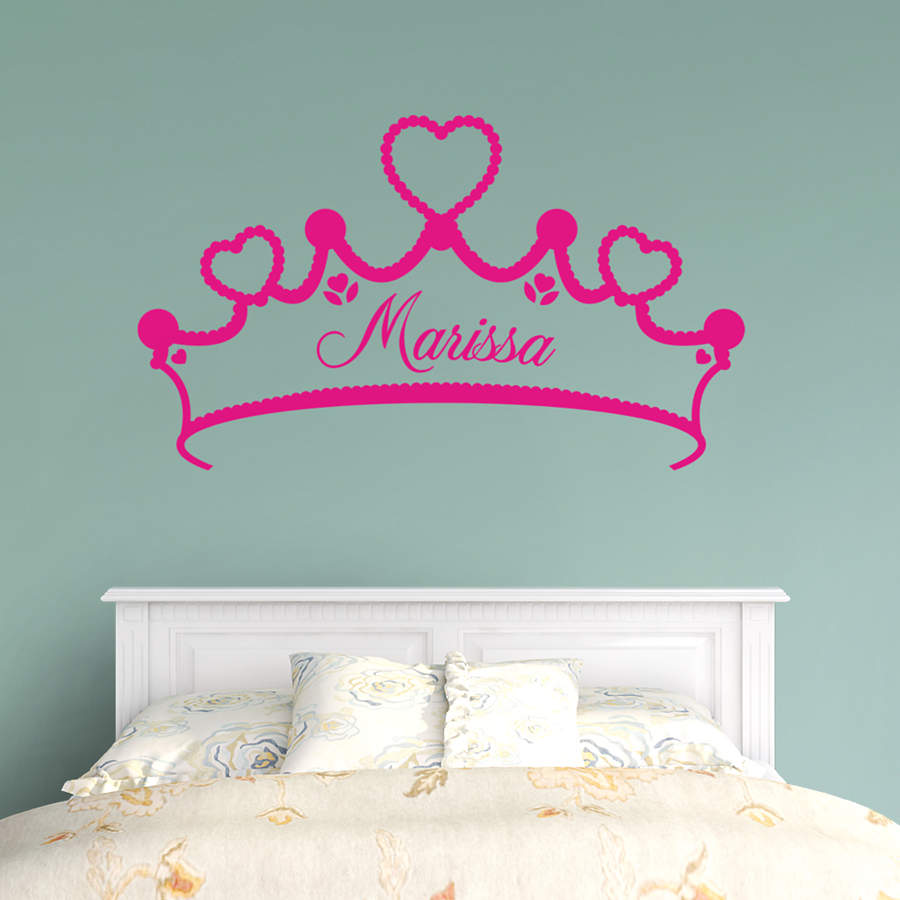 Tiara Personalized Name Wall Decal | Shop Fathead® for ...
