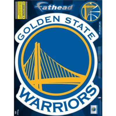 Golden State Warriors Street Grip Outdoor Decal