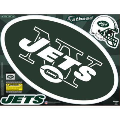 New York Jets Street Grip Outdoor Decal