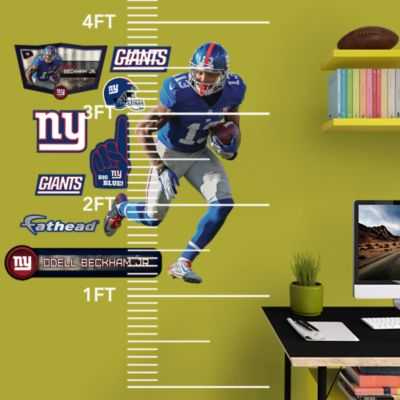 New York Giants Pennants - Fathead Jr. Wall Decal