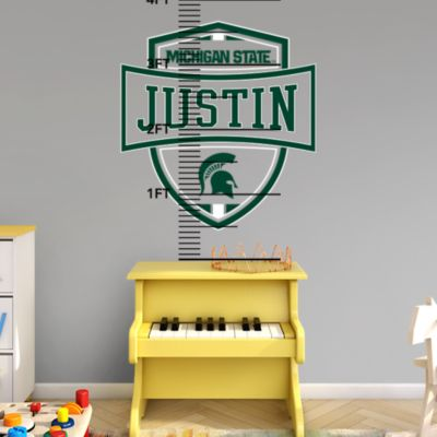 Wisconsin Badgers Personalized Name Fathead Wall Decal