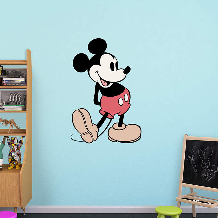 Mickey Mouse Wall Decal | Shop Fathead® for Mickey Mouse Decor
