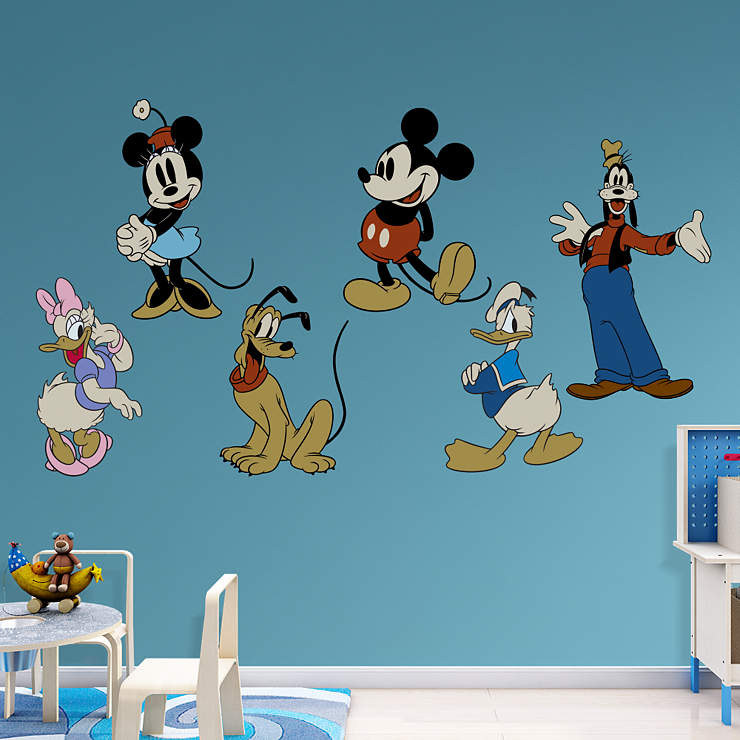 Classic Mickey & Friends Wall Decal | Shop Fathead® for ...