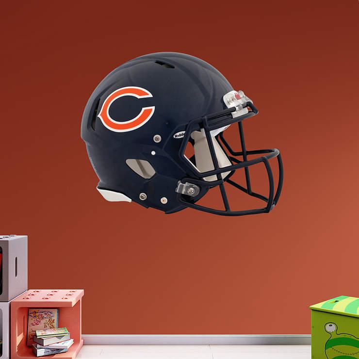 Chicago Bears Home Decor: Chicago Bears Helmet Wall Decal