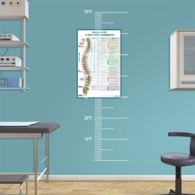 Dentist's and doctor's office wall decals