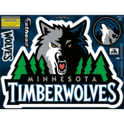 Minnesota Timberwolves Street Grip Outdoor Decal