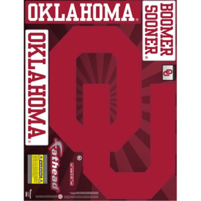 Oklahoma Sooners Street Grip Outdoor Decal