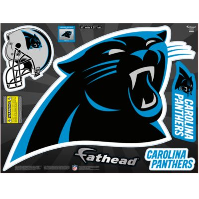 Carolina Panthers Street Grip  Outdoor Decal
