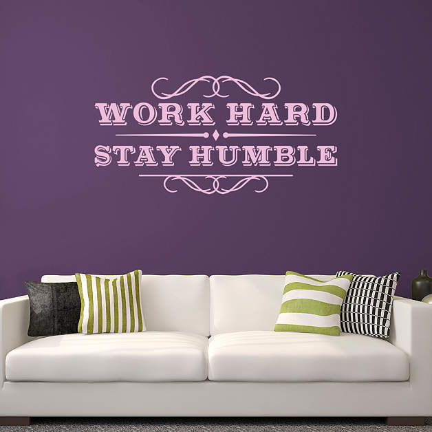 Work Hard Stay Humble Wall Decal Shop Fathead 174 For Wall