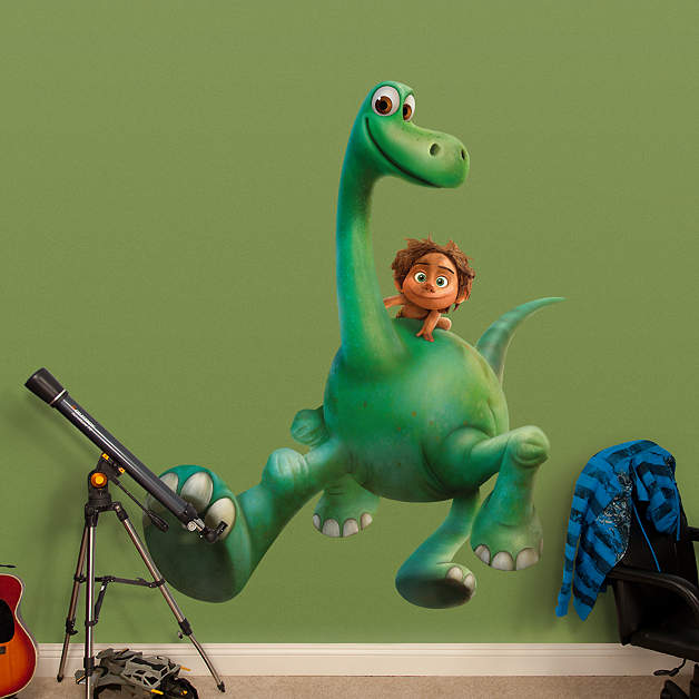 arlo and spot wall decal shop fathead for the good dinosaur decor. Black Bedroom Furniture Sets. Home Design Ideas