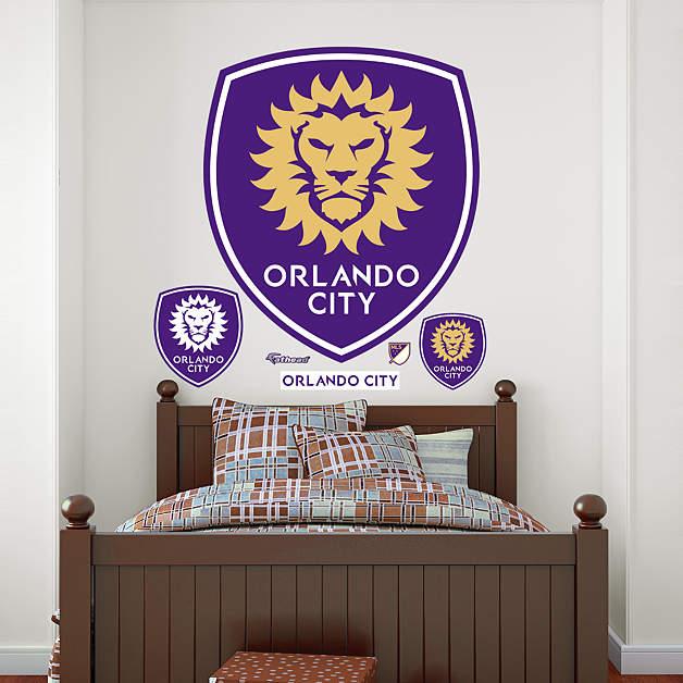 Orlando Home Decor Stores: Orlando City Soccer Club Logo Wall Decal