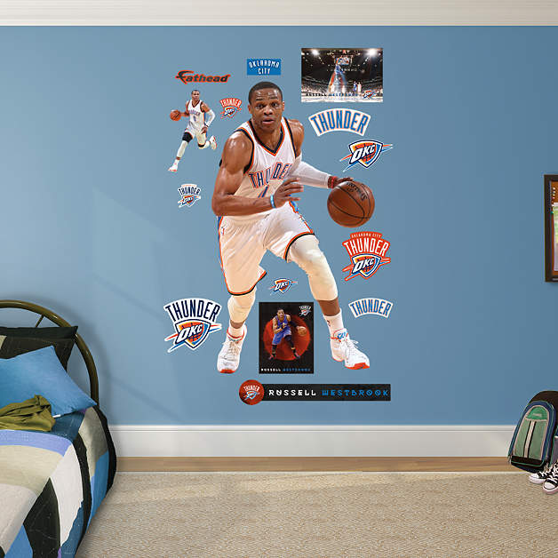 Life-Size Russell Westbrook - Drive Wall Decal