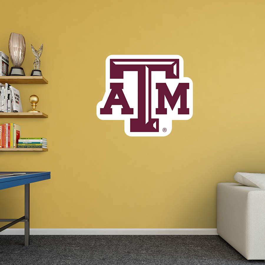 Texas A Amp M Aggies Logo Wall Decal Shop Fathead 174 For Texas