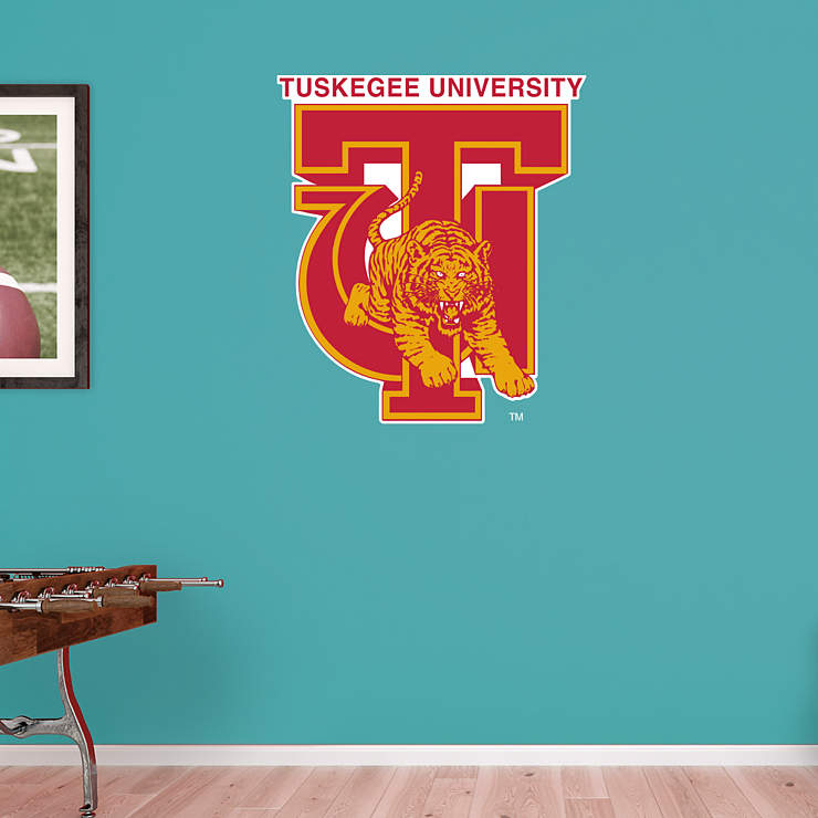 Tuskegee Golden Tigers Logo Wall Decal Shop Fathead 174 For