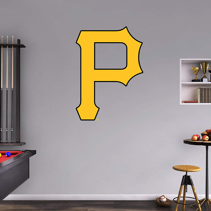 Pittsburgh Pirates Logo Wall Decal Shop Fathead 174 For