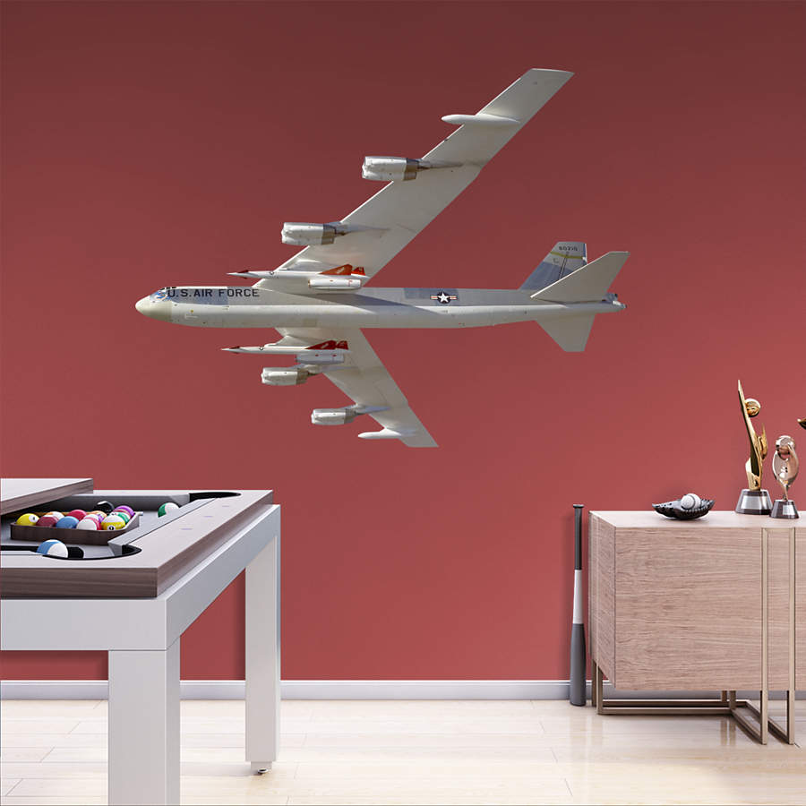 Boeing B 52 Stratofortress Of The U S Air Force History: B-52 Stratofortress Wall Decal