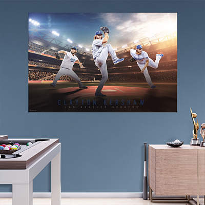 Shop los angeles dodgers wall decals graphics fathead mlb for Dodger stadium wall mural